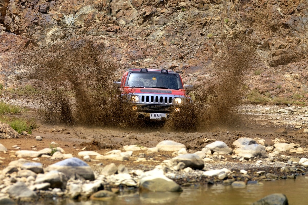 Off-road tour in Hajar Mountains